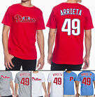 Jake Arrieta Philadelphia Phillies #49 MLB Jersey Style Men's Graphic T Shirt on Ebay