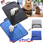 Outdoor Waterproof Folding Puppy Dog Bed Pet Kennel Cushion Mat Crate Cage Pad