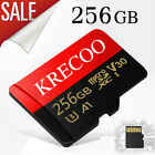 KRECOO Memory Card Micro Sd 256GB 128GB 64GB  Card Adapter for Phone/Tablet/PC