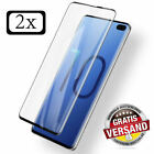 2x Panzerglas Schutzglas Full Screen Curved 9H Samsung Galaxy S10 / Lite / Plus