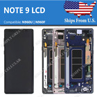 OEM Samsung Note 9 LCD OLED Display Touch Screen Digitizer + Frame USED