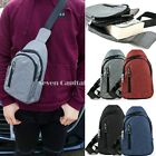 Unisex Mens Womens Fanny Pack Shoulder Belt Waist Bag Camping Fashion Backpack image