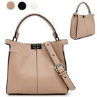 CELEBRITY STYLE CLASSIC NEW XLITE PEECABOO TOTE SHOULDER BAG FAUX LEATHER
