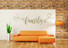 Family Quote Vinyl Wall Art Sticker, Mural, Decal. Home Decor. Living Room