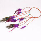 Women Feather Headband Headdress Festival Boho Hairband Hair Accessories shan