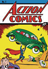 "Action Comics cover ""SUPERMAN""  FIRST ISSUE  / Print on Glossy Paper or Canvas"