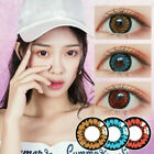 Soft Color Contact Lenses Cosmetic Eye Makeup Lens Honey Series Cosplay 1 Year