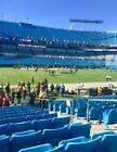 CAROLINA PANTHERS VS ATLANTA FALCONS -SEC 114 ROW 11 VISITORS SIDELINE - $700 on eBay