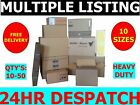 Strong Cardboard Boxes All Sizes Small / Medium / Large / X-Large - Free Postage