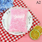 Warm color snow mud particles accessories tiny foam beads slime balls supply JKU