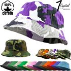 Kyпить Bucket Hat Cap Cotton Fishing Boonie Brim visor Sun Safari Summer Men Camping на еВаy.соm