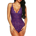 Summer Women Sexy Pajamas Lace Pajamas Sleepwear Deep V Neck Lingerie shan