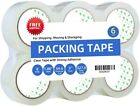 Clear Packing Tape Refill Rolls for Shipping Moving Packaging Best Grizzly Rolls