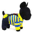 Jean Dog Jumpsuit Striped Small Puppy Overalls Poodle Apparel Pet Cat Clothing