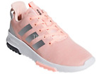 Adidas DB1868 Girls' Cloudfoam Racer TR Tunning Shoes Haze Coral/White Size 11K