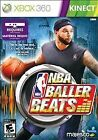 NBA Baller Beats for Kinect (Microsoft Xbox 360, 2012) *New,Sealed*