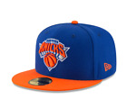 New Era Royal - Orange NBA New York Knicks Fitted Hat on eBay