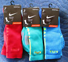 Внешний вид - Mens Nike Elite Basketball Cushioned Crew Socks / Size Large 8-12