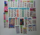 Huge Lot 150 + Packages Scrapbooking Stickers & Embellishments Most Are New