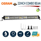 22Inch 1088W LED Light Bar Spot Flood Combo Offroad 4WD UTV SUV Fog Lamp 12V 24V