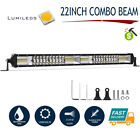 22Inch 1088W LED Light Bar Spot Flood Combo Offroad Truck 4WD UTV SUV Fog Lamp