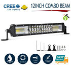 12INCH 544W LED LIGHT BAR Spot Flood For Jeep Truck SUV 4x4 Work Lamp 12V 24V AU