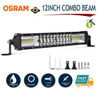 12INCH 544W LED LIGHT BAR Spot Flood Truck SUV 4x4 Work Lamp 12V 24V Reserve AU