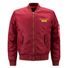 Men's Air Force One Large Size Jacket Casual Bomber THE BEST Jacket