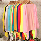 10Color Fashion Casual Women Long Sleeve Tops Cardigan Thin Coat Outwear Blouse