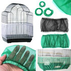 Airy Fabric Mesh Pet Parrot Cage Protection Cover Seed Catcher Guard Shell BS