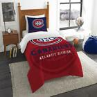 Montreal Canadiens The Northwest Company NHL Draft Twin Comforter Set Multi Size $62.78 USD on eBay