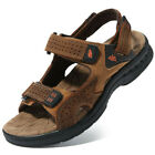 Men's Leather Fisherman Casual Comfort Adjustable Sandal Open Toe Size 8 9 10 11