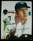 MICKEY MATLE signed print NEW YORK YANKEES, 8x10, with 2 COAs