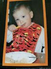 Baby Bid Waterproof Comfortable Baby Bib Wipes  HALLOWEEN BATS