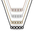 Natural 0.15 Ct Black Diamond Pendant Necklace Solid 18k Gold Handmade Jewelry