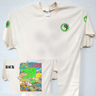 """T&C,Town and Country,""""Hawaii Retro Surf"""" Ivory Cool,T-SHIRT Sizes: S-5X, T-1019"""