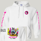 "T&C,Town and Country,Hawaii Retro ""Surf Sacrifice"", Hoodie/Pullover,T-1028 White"