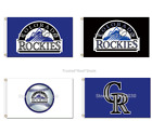 Colorado Rockies Flag 100D Polyester 3x5 Mancave MLB NEW! FAST SHIPPING $30 SALE on Ebay