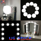LED Bulbs Makeup Mirror Vanity USB Light Lamp 3 Levels Brightness Adjustable US