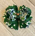 St. Patrick's Day Boutique Hair Bow