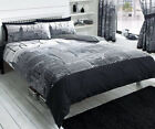 NYC Printed New York Duvet Quilt Bedding Cover Set With Pillow Case
