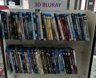 68X 3D Bluray Movies Marvel Disney & More Collection ALL 3D BluRay