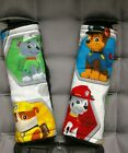 Paw Patrol Chase Rubble Rocky Marshall Black Minky Toddler Car Seat Strap Covers