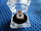 NEW 0RLEANS SAINTS HAND PAINTED  PEWTER RING WITH TEAM LOGO  SIZE 8 NEW
