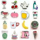 Buy 3,Get 2 (ADD 5) FOOD DRINK 75+ Styles Floating Charms for Floating Locket