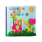 Toddler Kids Baby Cloth Cognize Book Intelligence Development Educational Toy