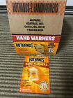 Hot Hands Brand Hand Warmers Heats Up to 10 Hours U pick # of pairs - FREE SHIP