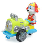 Electric Swing Dog Push Tractor Car Toys w/ Music Sound Light Kids Play Game