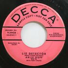 50'S & 60'S Promo 45 Arlie Duff - Lie Detector / I Dreamed Of A Hill-Billy Heave