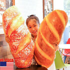Funny Huge Simulation French Bread Pillow Plush Toys Cushion Xmas Birthday Gift image